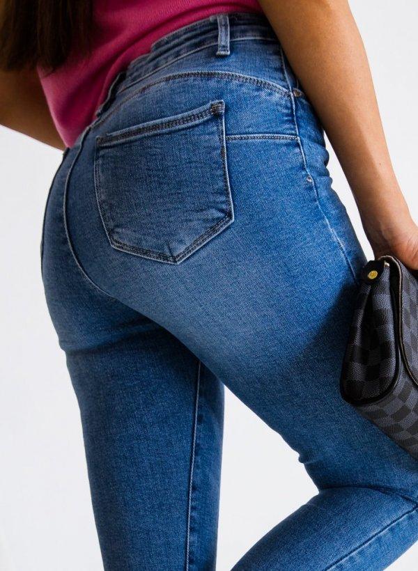 Spodnie Tivoli push up blue jeans