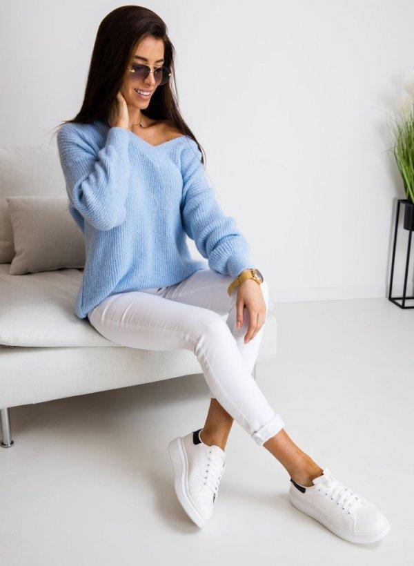Sweter Cassi błękit