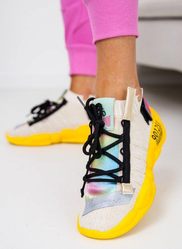 Sportowe buty Flar gold/yellow