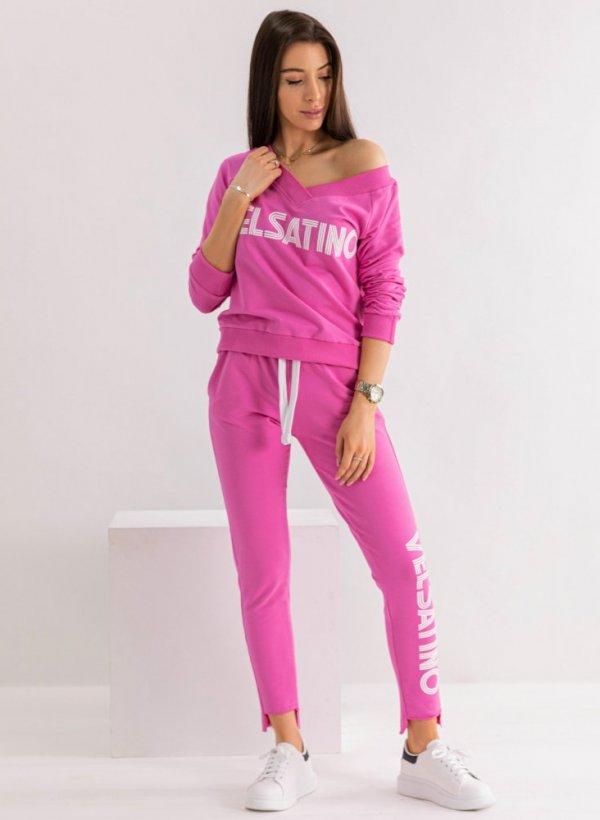 Spodnie Velsatino pink