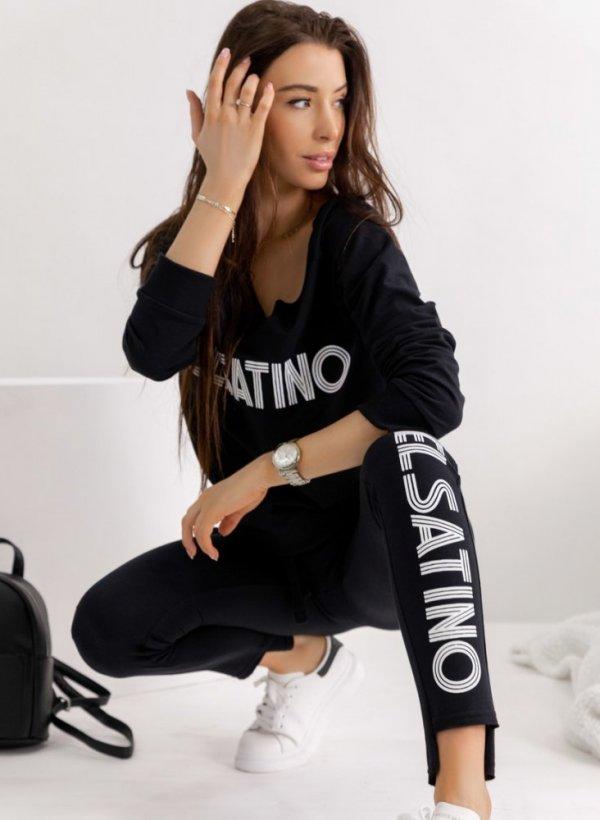 Spodnie Velsatino black