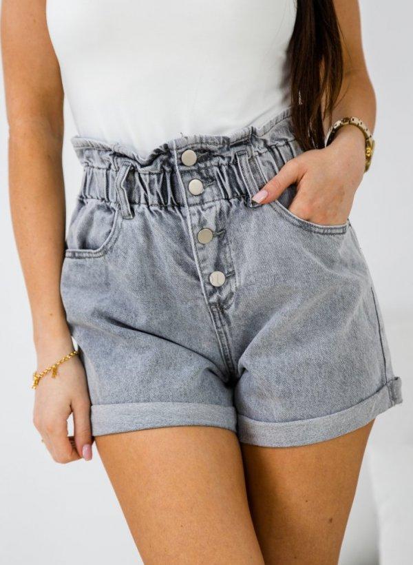 Spodenki/szorty jeansowe Roma grey