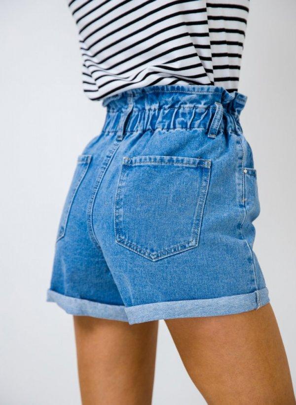 Spodenki/szorty jeansowe Roma blue