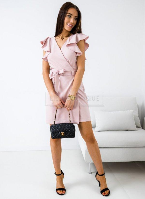 Sukienka Delicate róż