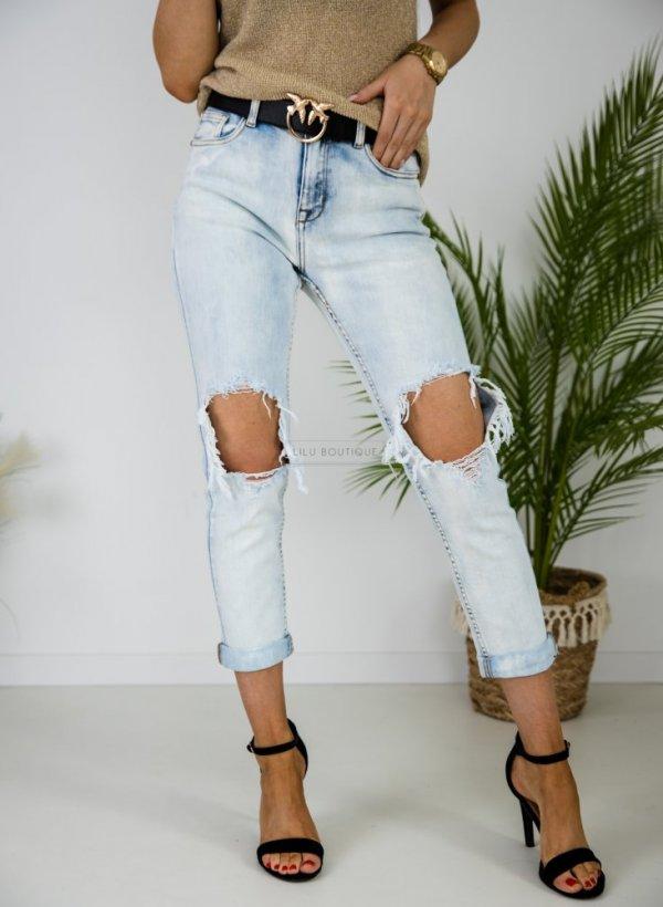 Spodnie jeansowe typu Relax blue
