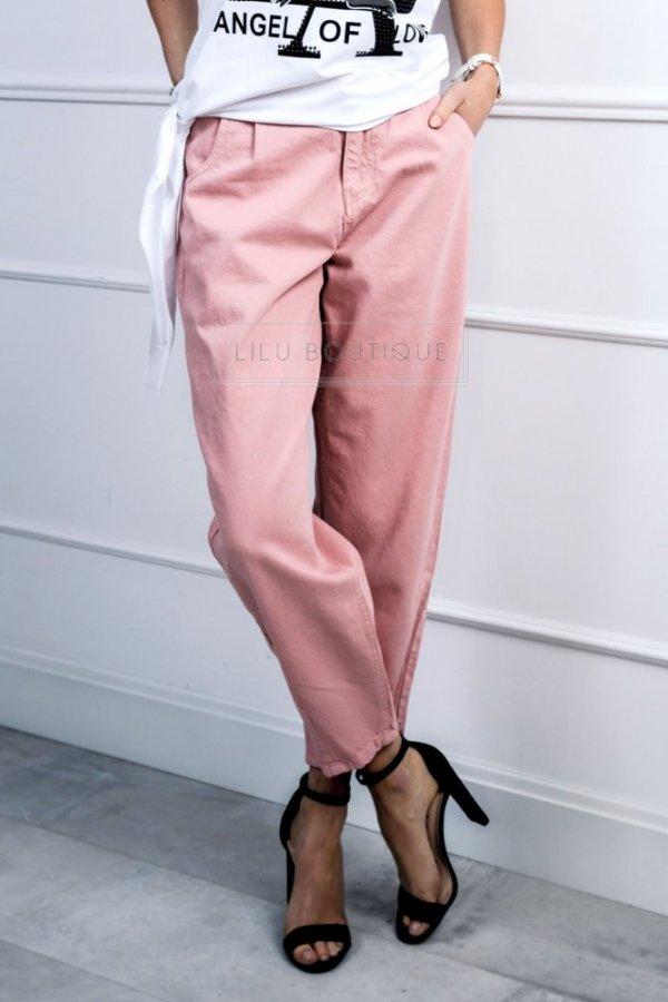 Spodnie Slouchy Adore róż