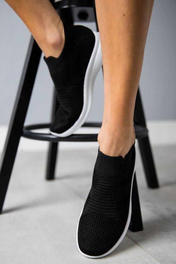 Sportowe obuwie wsuwane Number czarne