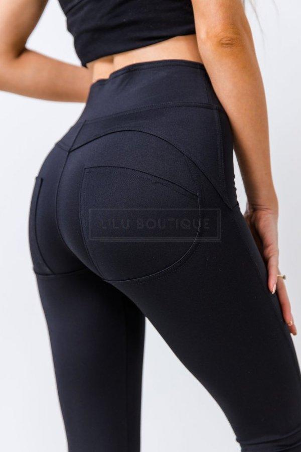 Spodnie/legginsy typu Push-up Molly black