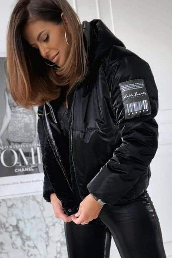 Kurtka pikowana Moolin black