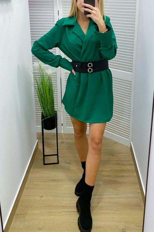 Sukienka elegancka Palermo zielona